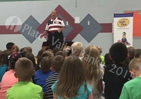 Magical Bank Day Presentation at Siegrist ElementarySchool