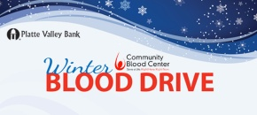 Winter Blood Drive is Wednesday, February 10th!