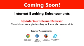 Update Your Browser for InternetBanking