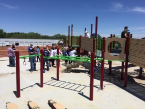 Volunteer Work for the New Platte County Inclusive Playground